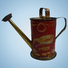 Antique German Child or Doll Tin Watering Can