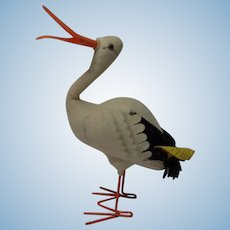 Vintage German Steiff Stork 2560/17
