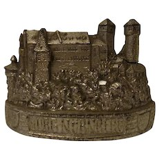German Nuremberg Castle Money Bank Old Vintage