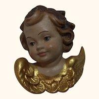 Cherub Angel Head Vintage German