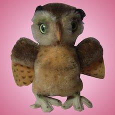 Vintage German Steiff Owl