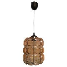 Single Glashuette Limburg Style Pendant Lamp