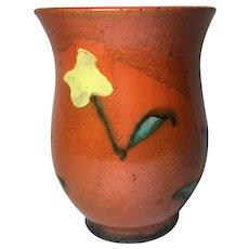 Early Career Handmade Walter Bosse Ceramic Vase, Unique 1930s Item