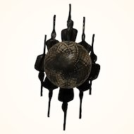 Mid Century 60´s Brutalist Style Wall Lamp