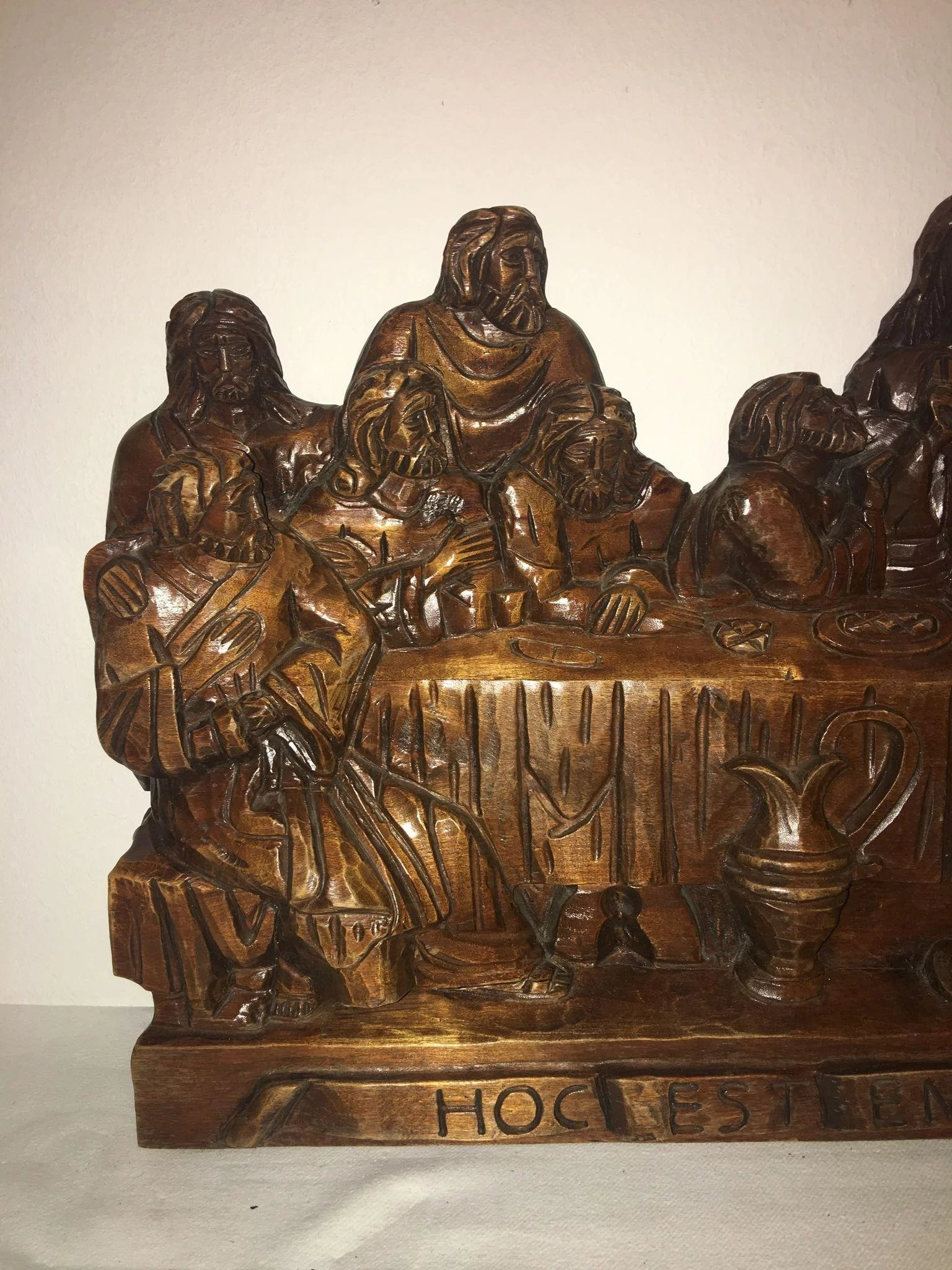 The last supper picture by gadion for carvings photography