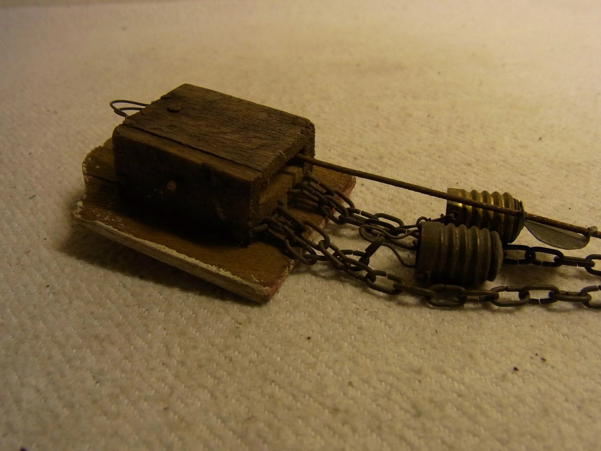 Antique German Dollhouse Wall Clock Eddys Ruby Lane Electrical Wiring Click To Expand
