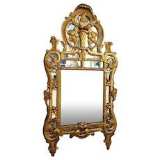 French Louis XV period Provence mirror, 18th century