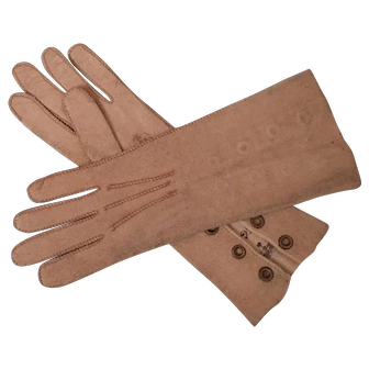 Doll Gloves French Fashion Size