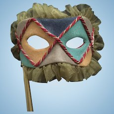 """R. John Wright """"Le Bal Masque"""" Doll Convention Special Mask"""