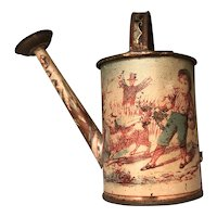 Very Early Toy Tin Litho Watering Can