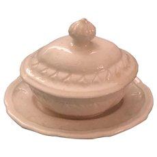 Antique Miniature Creamware Tureen c. 1830