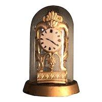 Dome Anniversary Clock Doll House Miniature