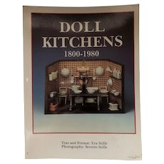 """Doll Kitchens  1800-1980"" Excellent Reference Book"