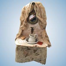 Dollhouse Vanity Draped Fabric Accessories