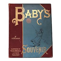 Baby's Souvenir Journal Complete from 1895