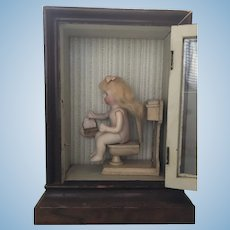 Dolly's Potty Time Antique Doll All Bisque Doll