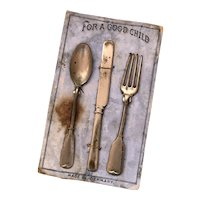 Toy Place Setting Original Card Germany