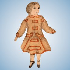 "Perfect 2"" Inch Paper Doll Exquisite"