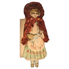 Antique Doll Die-Cut Book Tuck & Sons, c. 1880