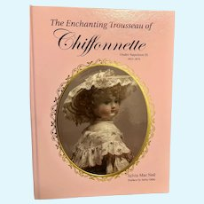 """Chiffonnette"" by  Sylvia Mac Neil antique doll Huret French Fashion Doll"