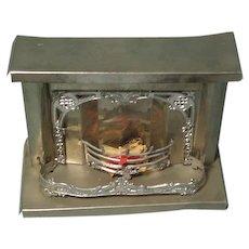 Vintage Dollhouse Fireplace Pierced Scrolled Trim