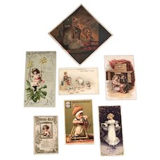 Antique Ephemera Collection c.1880
