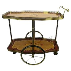 Italian Mid Century Drinks Trolley Fine Craftsmanship Other