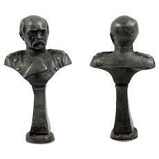Vintage Grand Tour Collection, Souvenir, Lenin of USSR Russia, Superb Eagle & Crown Wax Seal