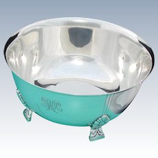 """Vintage Tiffany & Co. Sterling Silver 8 3/8"""" Bowl, Centerpiece, Mid Century Modern Style"""