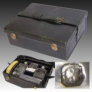 Antique French Palais Royal Style Trousse de Voyage, Travel Case, Sterling Silver Jars & More!