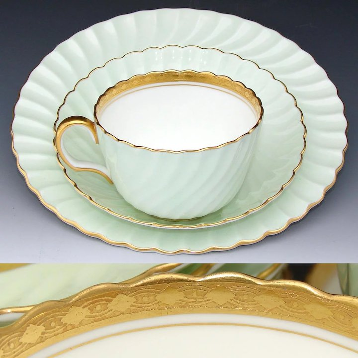 Fabulous Vintage Minton for Tiffany u0026 Co. 36pc Tea Cup Saucer u0026 8  & Fabulous Vintage Minton for Tiffany u0026 Co. 36pc Tea Cup Saucer u0026 8 ...