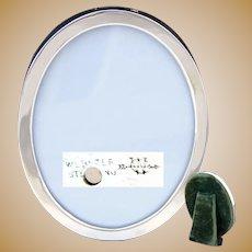 "Antique to Vintage Webster Co. Sterling Silver 3.5"" Oval Picture Frame"