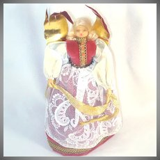 Angel Doll With Wax Face and Hands
