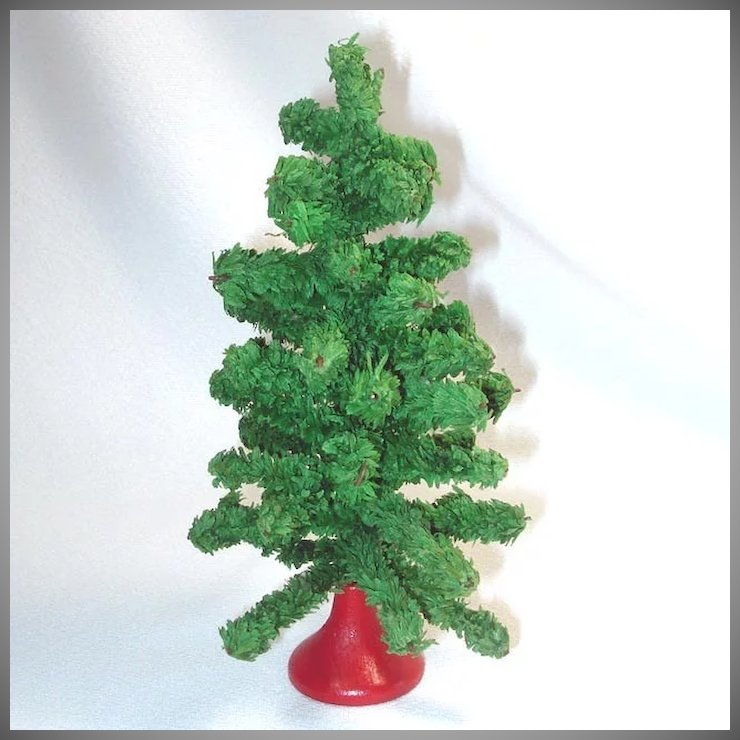 1930s small tabletop artificial christmas tree - Small Artificial Christmas Tree