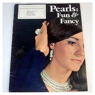 Pearls Fun & Fancy 1971 Beaded Jewelry Pattern Booklet