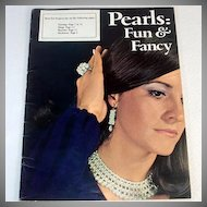 Pearls Fun & Fancy 1971 Beaded Jewelry Pattern Booklet