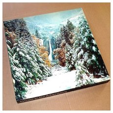Winter In The Mountains 1979 Springbok Jigsaw Puzzle Yosemite