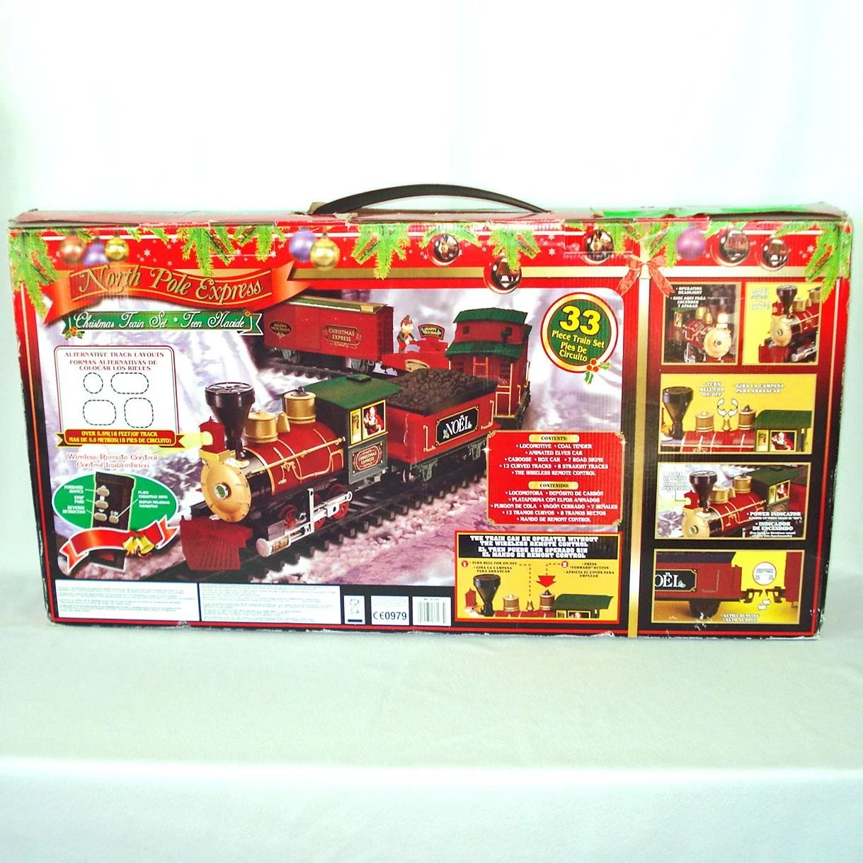 North Pole Express Christmas Train Set : Copperton Lane Antiques and ...