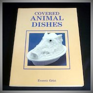 Covered Animal Dishes 1988 Collector ID Price Guide Book
