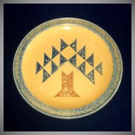 Pfaltzgraff American Quilted Tree Dinner Plate