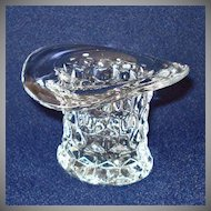 Fostoria American Top Hat Toothpick Holder or Vase