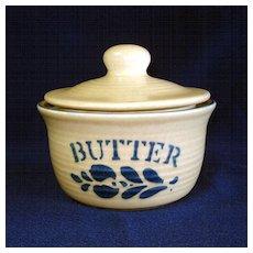 Pfaltzgraff Folk Art Covered Butter Tub