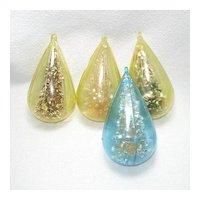 Jewel Brite Glittered Brush Trees Plastic Christmas Ornaments
