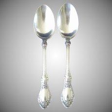 Sharon 1910 Silverplate Teaspoon, 1847 Rogers Bros