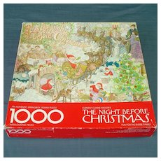 The Night Before Christmas Springbok Jigsaw Puzzle
