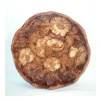 Multi Products Wood Composition Bowl Flowers Pinecones