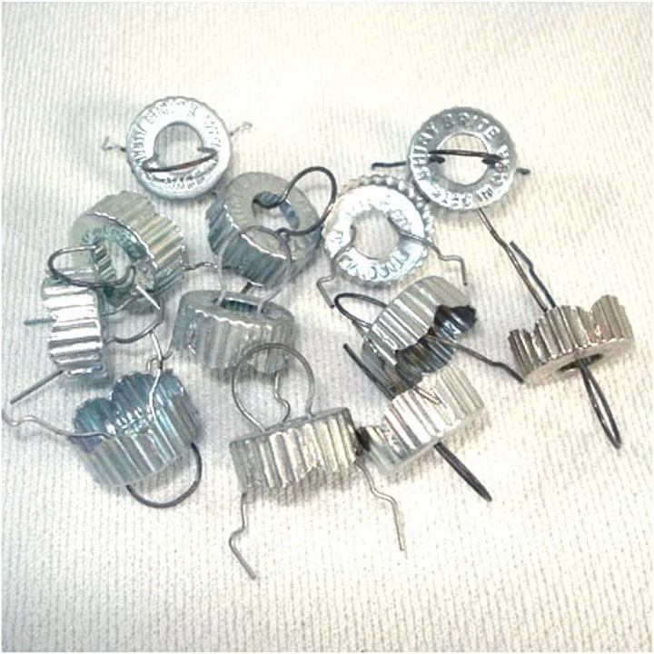 Image result for shiny brite metal caps