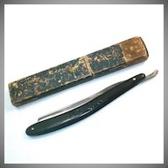 Antique German Ern Ator Cut Throat Straight Razor