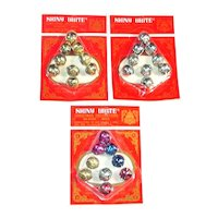 Package Shiny Brite Christmas Jingle Bells Mint on Card
