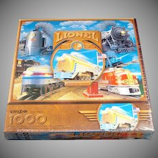 Lionel Electric Trains Springbok Jigsaw Puzzle Sealed
